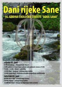 Plakat A3 Dani rijeke Sane-Novi